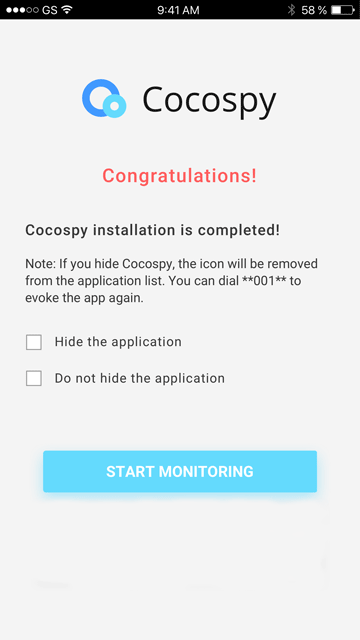 cocospy android tracking app setup 05