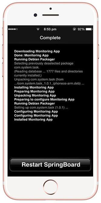 IOS install 6