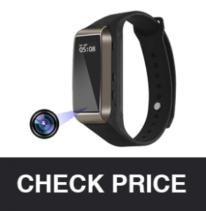 Aipinvip Smart Bracelet Hidden Camera