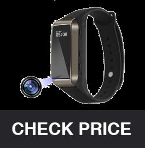 Aipinvip Smart Bracelet Hidden Camera