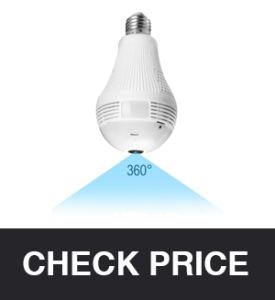 BESDERSEC Light Bulb Camera