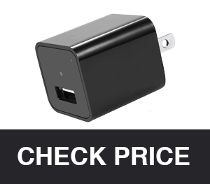 Duddy-Cam USB Wall Charger with Hidden Spy Camera