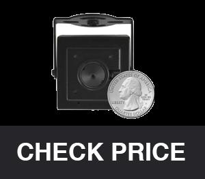 HDView Spy Hidden Camera 3.7mm Pinhole Lens