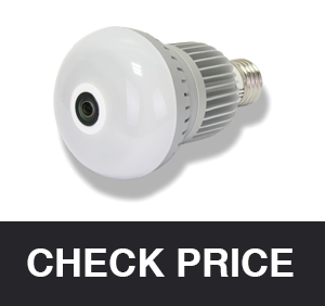 LEFTEK Security Camera With Lamp Connector