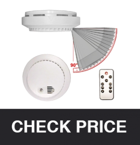 PalmVID Smoke Detector Hidden Spy Camera