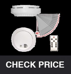 PalmVID Smoke Detector Hidden Spy Camera