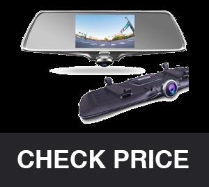 Provision-ISR Hidden Interior Mirror Camera for Cars