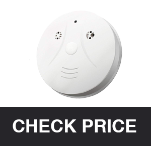 QUANDU WiFi Smoke Detector Hidden Camera