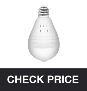 SDETER Light Bulb Hidden IP Camera