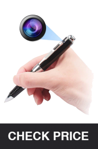 SOOSPY Spy Pen Hidden Camera