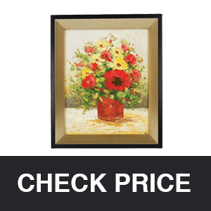 STS Oil Painting Picture Frame Hidden Spy Camera
