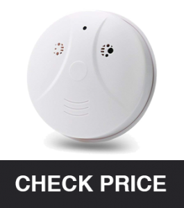 Tangmi Mini Smoke Detector Cam HD 1080P