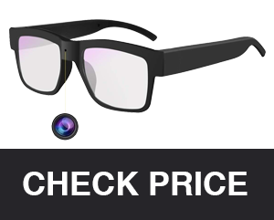 Towero Wearable Hidden Camera Glasses