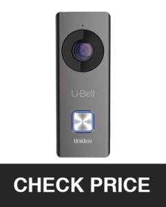 Uniden U-Bell WiFi Video Doorbell