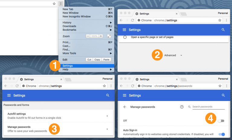 Browsers Password Manager